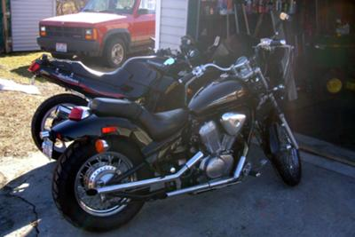 1997 Honda Shadow VLX 600