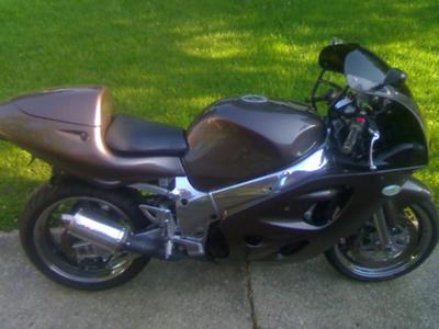 1997 SUZUKI GSXR 600