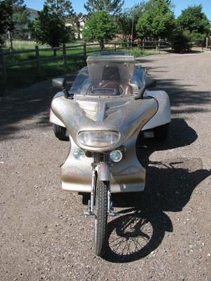 1997 VW Trike with matching Trailer