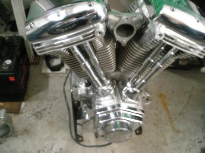 New 110 Revtech Motor that comes with the 1998 Chopper Motorcycle Project