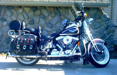 1998 Harley Davidson Heritage Springer Anniversary Edition