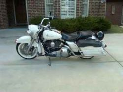 White 1998 Harley Davidson Road King FLHPi for sale by owner