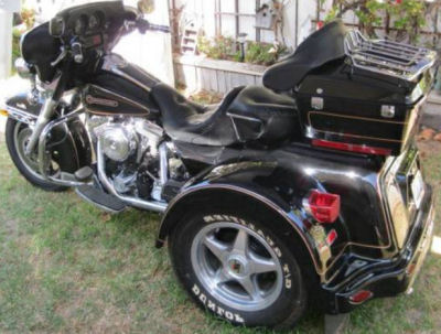 1998 Harley Davidson Lehman Trike Motorcycle (this motorcycle is for example only; please contact seller for pics of the Lehman trike conversion for sale in this classified)