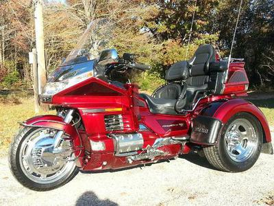 1998 Honda Goldwing Gl1500SE Trike Motorcycle w Candy Spectra Red Paint Color