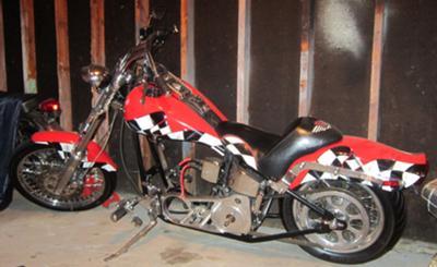 1999 Custom Softail Chopper Motorcycle