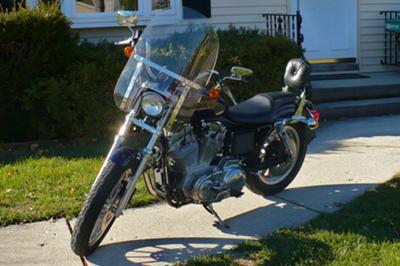 1999 Harley Davidson Sportster Hugger 883
