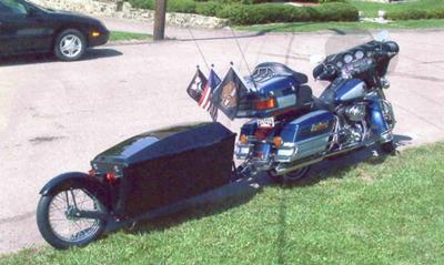 1999 Harley Davidson Ultra Classic and N-line Motorcycle Trailer