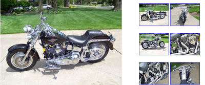 1999 harley davidson softail fatboy fat boy black