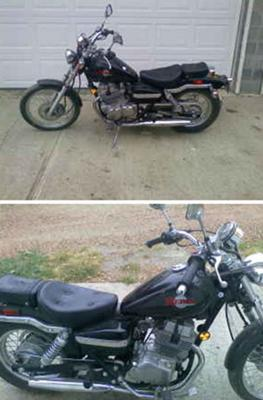 1999 HONDA REBEL (NOT the motorcycle for sale in this ad)