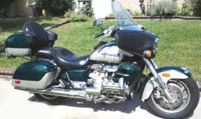 1999 HONDA VALKYRIE INTERSTATE 1500 (this photo is for example only; please contact seller for pics of the actual motorcycle for sale in this classified)