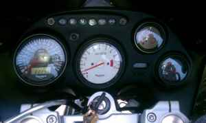 1999 Triumph Sprint ST 955 Instrument Panel And Odometer