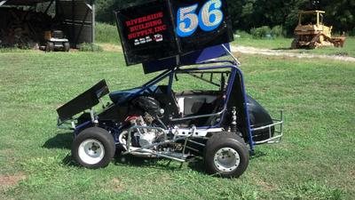 600cc Mini-Sprint Car with Honda CBR600 Engine