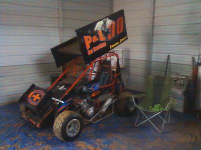 600 Mini Sprint Car with Honda CBR 600 Motor