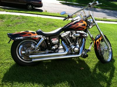 Totally Custom 2000 Harley Davidson FXD Dyna SuperGlide w custom paint and $45,000.00 invested in upgrades, high end parts and accessories