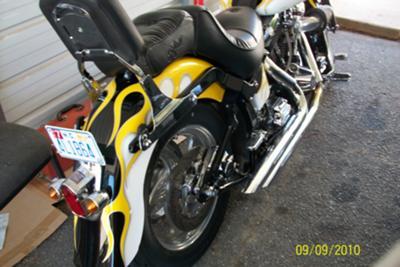 2000 Harley Davidson Fatboy Custom Rear Fender
