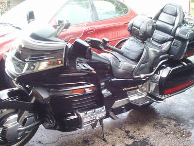 2000 Honda Goldwing Anniversary Aspencade, Black Beauty