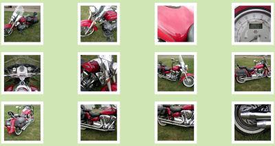 2000 yamaha roadstar silverado custom customized red candy paint
