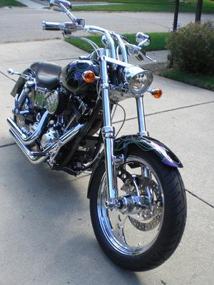 2001 Harley Davidson Wide Glide Street Custom Motorcycle