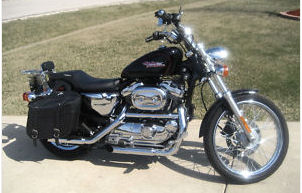 2001 harley davidson sportster custom black 1200