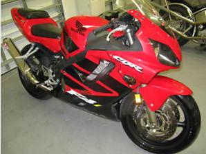 2001 HONDA CBR600 F4i red cbr 600 YOSHIMURA EXHAUST