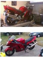 2001 Honda CBR1100xx Blackbird