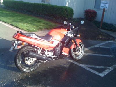 2001 Kawasaki Ninja 250