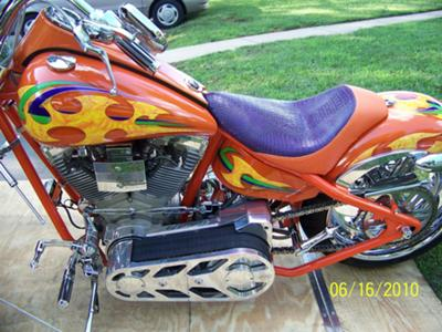 2002 BIG DOG PITBULL CHOPPER