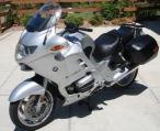silver 2002 bmw r1150RT