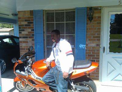 2002 Suzuki GSXR 750 w Kandy Orange Paint Fender Eliminator, Light blue HID Headlight (this photo is for example only; please contact seller for pics of the actual motorcycle for sale in this classified)