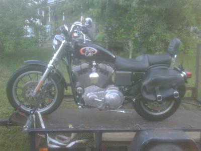 2002 Harley Davidson 1200 Sportster