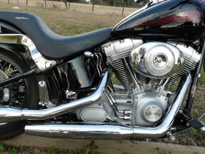 2002 Harley Softail FXST Deluxe1450 Twin Cam