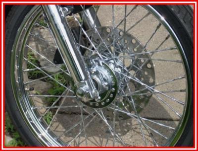 2002 Harley Davidson Custom Sportster Wheel