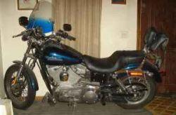 2002 Harley Davidson Super Glide Midnight Blue
