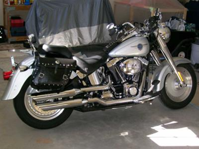 2002 Harley Fat Boy Clean Fat Boy Motorcycle