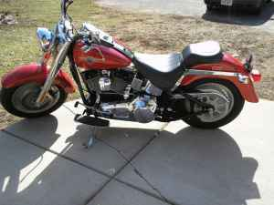 Red Baron Paint Color 2002 Harley Davidson Fatboy