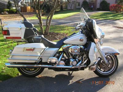 White 2002 Harley Davidson Ultra Classic