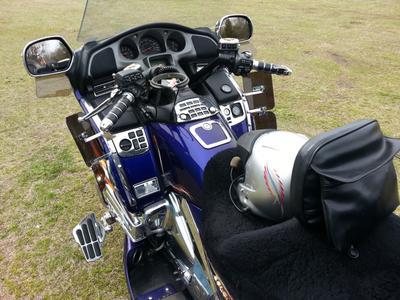 Loaded 2002 IB Honda GL1800 Trike Motorcycle