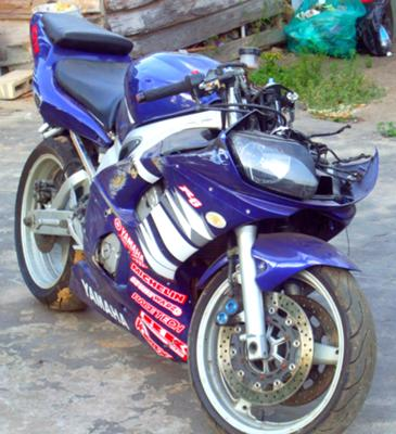 Cobalt Blue 2002 Yamaha R6 for Sale