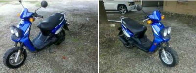 2002 YAMAHA SCOOTER (this photo is for example only; please contact seller for pics of the actual scooter for sale in this classified)
