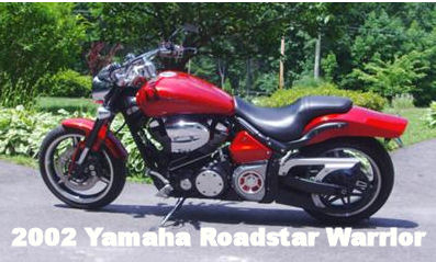2002 Yamaha Roadstar Road Star XV1700