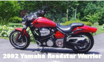 2002 Yamaha Warrior Motorcycle