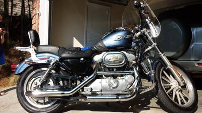 2003 Harley Davidson Sportster Anniversary Edition for sale by owner