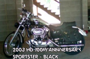 2003 100th Harley Davidson anniversary edition sportster 1200 xlc