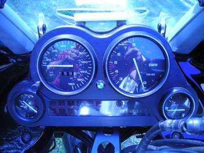 2003 BMW K1200RS Odometer