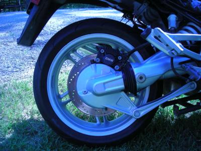 2003 BMW K1200RS Wheel and Tire