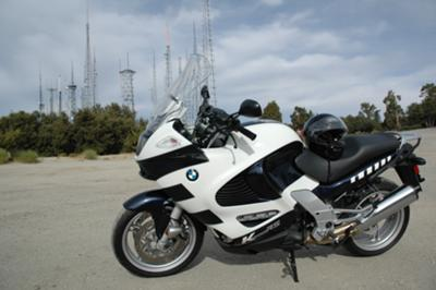 Black and White 2003 BMW K1200RS