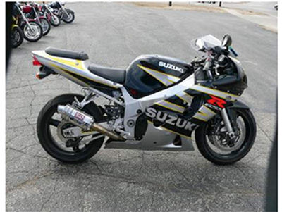 2003 SUZUKI GSX-R600  GSXR 600  GSXR600 Motorcycle