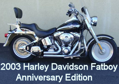 2003 Harley Davidson 100th Anniversary Edition Fatboy Motorcycle