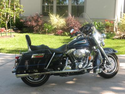 2003 Harley Davidson Road King FLHRI Shrine