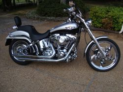 Used 2003 harley-davidson fxstd softail deuce for sale youtube.